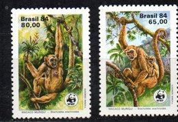Serie Nº 1672/3  Brasil - Chimpanzés