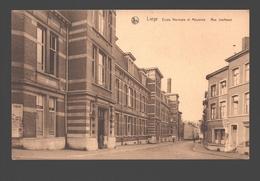 Liège - Ecole Normale Et Moyenne - Rue Jonfosse - Liege