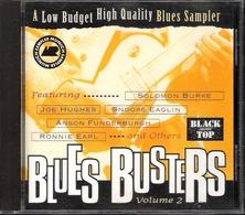 BLUES BUSTERS VOL.2 - ALEX SCHULTZ SNOOKE EAGLIN RONNIE EARL SOLOMON BURKE... (CD) - Blues