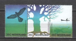 Netherlands 1974 NVPH 1043-1045a In Strip MNH - Periode 1949-1980 (Juliana)