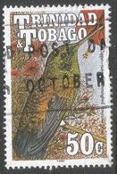 Trinidad & Tobago. 1990 Birds. 50c Used. SG 839 - Trinidad & Tobago (1962-...)