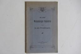 Livret Sur L'histoire De Wissembourg  1936 - Livres, BD, Revues