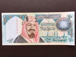 SAUDI ARABIA P27 20 RIYALS 1999 UNC - Arabie Saoudite