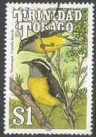 Trinidad & Tobago. 1990 Birds. $1 Used. SG 840 - Trinidad & Tobago (1962-...)