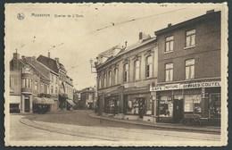 BELGIQUE  MOUSCRON QUARTIER DE L ' OURS.. RAIL.. CAFE.. COUTELLERIE..VELO.. LINGERIE...C2385 - Mouscron - Moeskroen