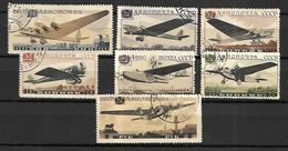 Russie  Poste Aérienne  1937  Avions    Cat Yt N° 66, 67, 68    Série Complète - 1923-1991 URSS