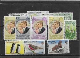 Falkland - Ensemble De Timbres Neufs ** Sans Charnière - TB - Falkland