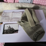 WW1 French Canadian Soldier's Sock, Photo And History - 1914-18