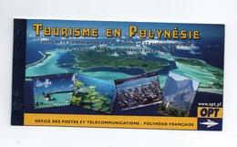 M-P25L5 Polynésie Neuf ** MNH Carnet Tourisme C779 - Carnets