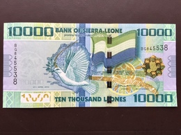 SIERRA LEONE P33 10000 LEONES 2010 UNC - Sierra Leona