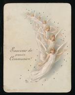GENT - SOUVERNIR DE PREMIERE COMMUNION 1890  CARLOTTA CARELS N.D.ST. PIERRE  - 13 X 10 CM 2 SCANS - Comunión Y Confirmación