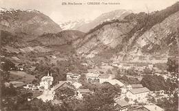 74. CPA. Haute Savoie. Passy. Chedde (carte Double) A - Vue Générale N°270 / B - Chedde Et Les Aiguilles De Varens N°448 - Passy