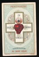 H.PRENTJE IMAGE PIEUSE  - MONTMARTRE  CONSECRATION AU SACRE COUR 11 X 7 CM - Devotion Images