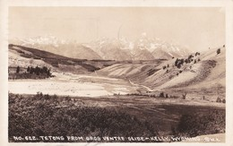Carte 1936 TETONS FROM GROS VENTRE SLIDE-KELLY WYOMING - Other