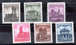 Serie De Alemania DDR N ºYvert 229/34 (**) - Nuevos