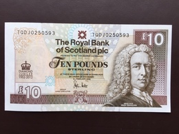 SCOTLAND  10 POUND 2012 UNC - [ 3] Escocia