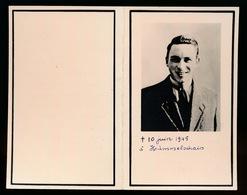 WWI - JEAN DE PORRE - GESTORVEN DUITSLAND 10 JUIN 1945 HUMMELSELSCHAIS - Décès