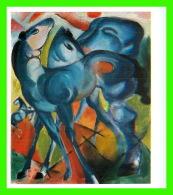 ARTS PEINTURES - FRANZ MARC, DIE BLAUEN FOHLEN, 1913 - - Peintures & Tableaux
