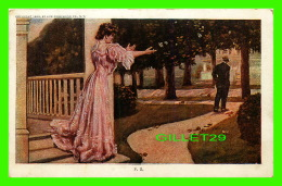 ARTS PEINTURES - MON MARI S'EN VA - 1905 BY LIFE PUBLISHING CO - TRAVEL IN 1913 - EDWARD GROSS - - Peintures & Tableaux