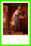 ARTS PEINTURES - JEAN-BAPTISTE-SIMÉON CHARDIN 1669-1779 - LA POURVOYEUSE - - Peintures & Tableaux