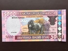RWANDA P33B 5000 FRANCS 2009 UNC - Rwanda