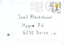 Brief Von 8000 Graz Mit Aufdruckkuvert 70 Cent ECO Inland 2018 - 1945-.... 2ème République