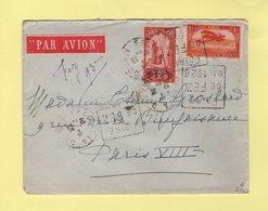 Maroc - Daguin - Foire De Fez Mai 1926 - Par Avion Destination Paris - Maroc (1891-1956)