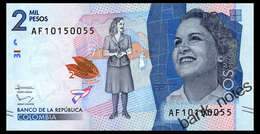 COLOMBIA 2000 PESOS 2016 Pick New Unc - Colombia