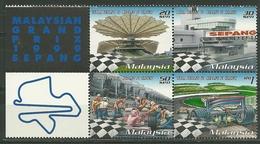 1999 Malaysia Bloc Grand Prix F1 Sepang MNH - P1410 - Malaysia (1964-...)
