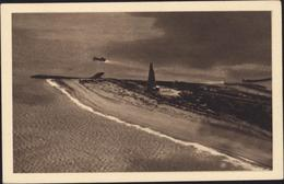 Entier Memorial Americain Pointe De Grave Bateau La Victoire La Fayette Storch R2b Vue Aérienne Monument Sombre - Ganzsachen