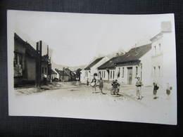 AK GROSS PETERSDORF Grosspetersdorf B. Oberwart Strasse Ca. 1940 /////  D*34409 - Österreich