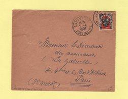 Algerie - Lafayette - Constantine - 7-6-1951 - Brieven En Documenten