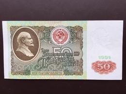 RUSIA P241 50 RUBLES 1991 UNC - Russland