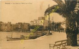 83. SANARY . Les Quais Et L'Hôtel De La Tour . - Sanary-sur-Mer