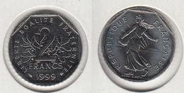 France 2 Francs 1999  Type Semeuse   2F - France