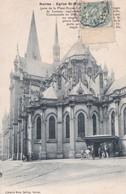 Carte 1906 NANTES / EGLISE ST NICOLAS (ARRET TRAMWAYS DE NANTES) - Nantes