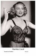 MARTINE CAROL - Film Star Pin Up PHOTO POSTCARD- Publisher Swiftsure 2000 (P527/1) - Postales