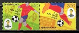 Korea South 2014 Corea / Football World Cup Brasil Soccer MNH FIFA Copa Mundial Futbol Brasil / Cu9728  29 - Wereldkampioenschap