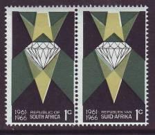 D110301 South Africa 1966 DIAMOND MINING Minerals Stones MNH - Afrique Du Sud Afrika RSA Sudafrika - Minéraux