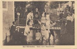 BAD WÖRISHOFEN - Gäste Beim Wassertreten, Gel.191? - Bad Wörishofen