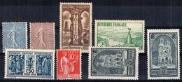 France Petite Collection De Bonnes Valeurs Neufs * 1903/1932. Gommes D'origine. B/TB. A Saisir! - France