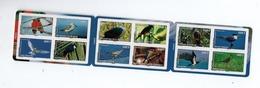 Polynésie  ** C916 Carnet  Oiseaux 2010 916/927 Lori Bécasseau Carpophage Tangara Ptilope Sterne Gygis Chevalier - Carnets