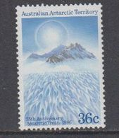 AAT 1986 Antarctic Treaty 1v ** Mnh  (40815D) - Australisch Antarctisch Territorium (AAT)
