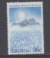 AAT 1986 Antarctic Treaty 1v ** Mnh  (40815D) - Ongebruikt