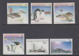 AAT 6 Single Stamps ** Mnh  (40815E) - Australisch Antarctisch Territorium (AAT)