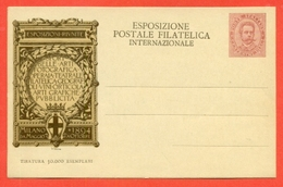 INTERI POSTALI I-CARTOLINE POSTALI- CC9/2- NUOVA - BUONA QUALITA' - CARTOLINA DI COMMISSIONE PRIVATA - 1900-44 Vittorio Emanuele III