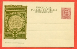 INTERI POSTALI I-CARTOLINE POSTALI- CC9/3- NUOVA - BUONA QUALITA' - CARTOLINA DI COMMISSIONE PRIVATA - 1900-44 Vittorio Emanuele III