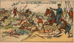 CHROMO  PASTILLES SALMON  BATAILLE DE BOUVINES 1214 - Altri