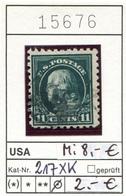 USA - Etats-Unis - Michel 217 XK - Oo Oblit. Used Gebruikt - - Stati Uniti