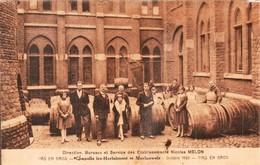 Chapelle Lez Herlaimont Et Morlanwelz Direction Bureaux Et Service Des Etablissements Nicolas Melon - Chapelle-lez-Herlaimont